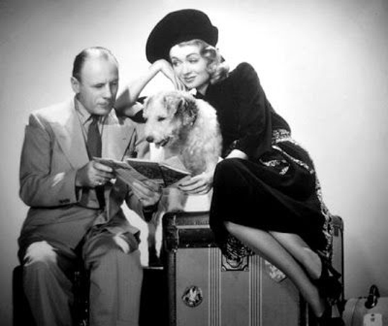 Asta as Mr. Atlas in Topper Takes a Trip with Roland Young and Constance Bennett