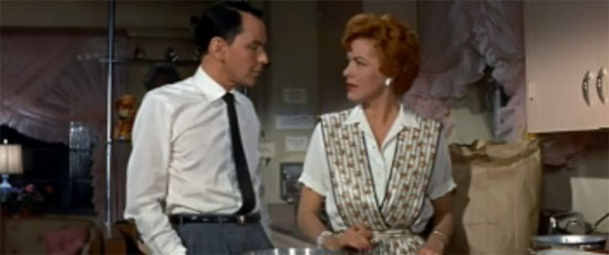Frank Sinatra and Eleanor Parker, A Hole in the Head