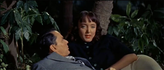 Carolyn Jones and Frank Sinatra, A Hole in the Head