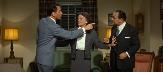 Frank Sinatra, Thelma Ritter, Edward G. Robinson, A Hole in the Head