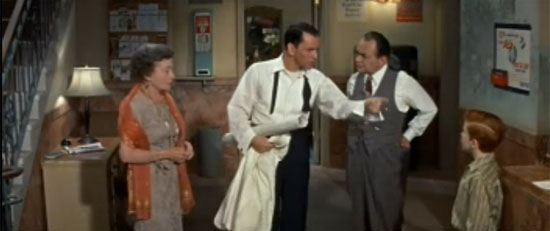 Frank Sinatra, Thelma Ritter, Edward G Robinson, Eddie Hodges, A Hole in the Head