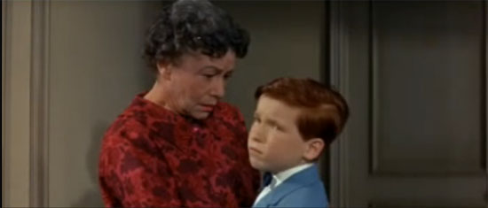 Thelma Ritter and Eddie Hodges, A Hole in the Head
