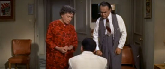 Thelma Ritter, Edward G. Robinson, Frank Sinatra, A Hole in the Head