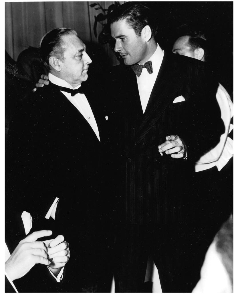 Errol Flynn and John Barrymore, Best Friends