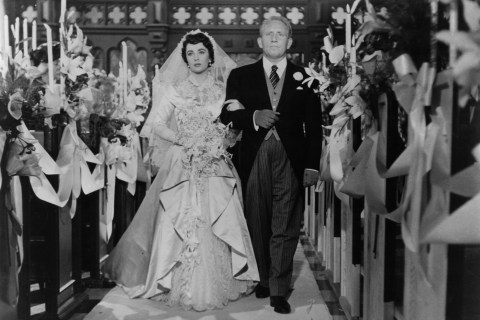 Father of the Bride, Spencer Tracy and Elizabeth Taylor