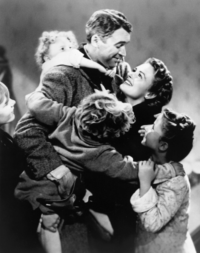 Sunday, December 19 (8-11 p.m. ETJames Stewart in It's a Wonderful Life