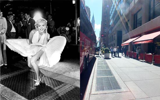Marilyn Monroe, Seven Year Itch Subway Grate
