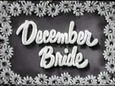 December Bride TV sitcom