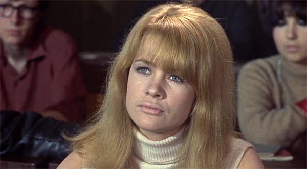 Judy Geeson as Pamela Dare, To Sir With Love