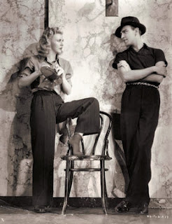 Ginger Rogers and Hermes Pan rehearsal