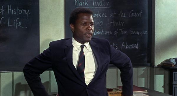 Sidney Poitier as ark Thackeray, To Sir With Love