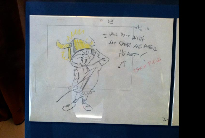 Chuck Jones sketch from Smithsonian Institute Museum of American History