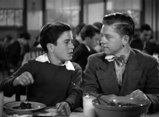 Mickey Rooney and Gene Reynolds, Boys Town