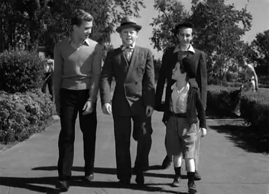 Frankie Thomas, Mickey Rooney, Sidney Miller, Bobs Watson, Boys Town