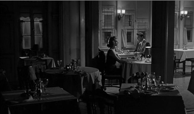 Burt Lancaster and Rita Hayworth in Seperate Tables