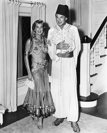 Gary Cooper and Veronica (Rocky) Cooper Halloween