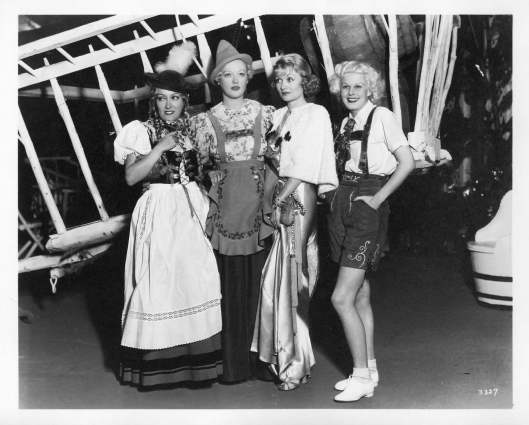 Marion Davies Halloween Party: Gloria Swanson, Marion Davies, Constance Bennett and Jean Harlow