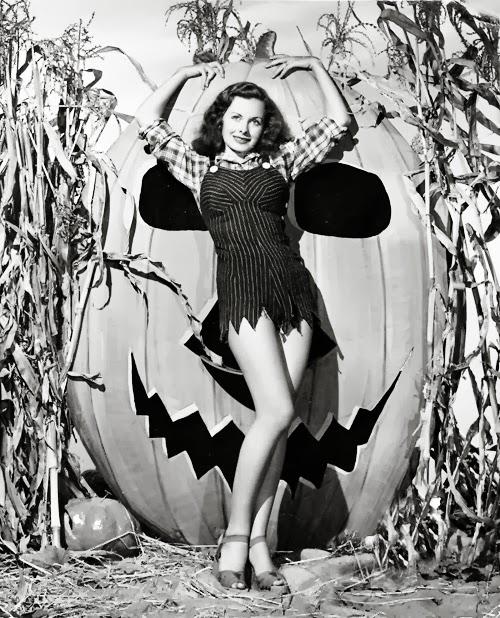 Jeanne Crain Halloween