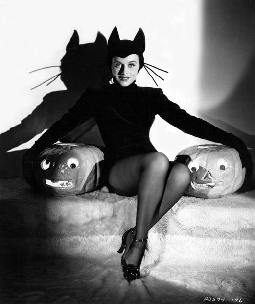 Paulette Goddard Halloween