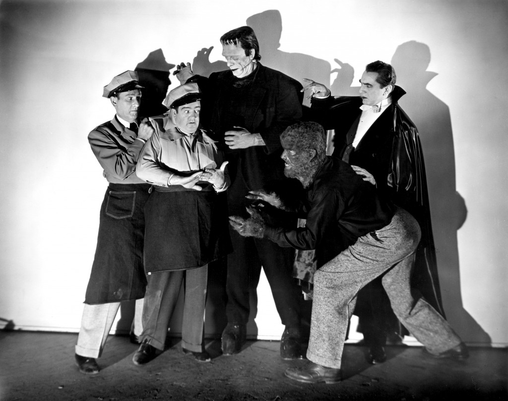 Abbott and Costello Halloween