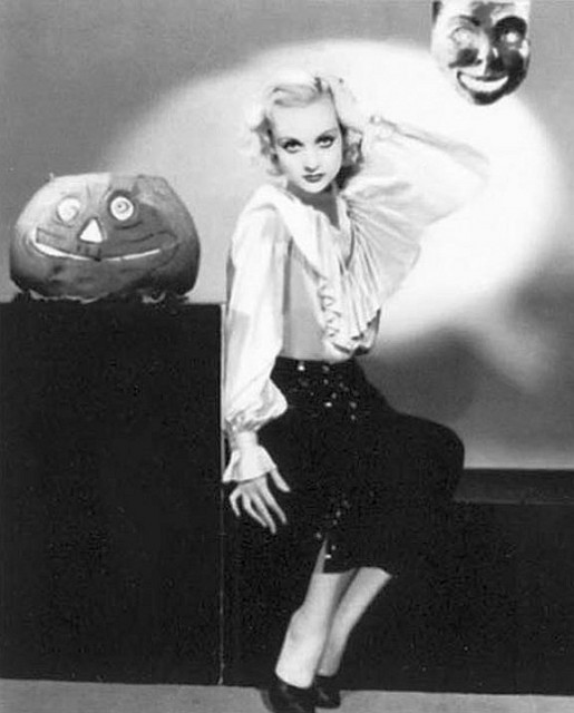 Carole Lombard Halloween