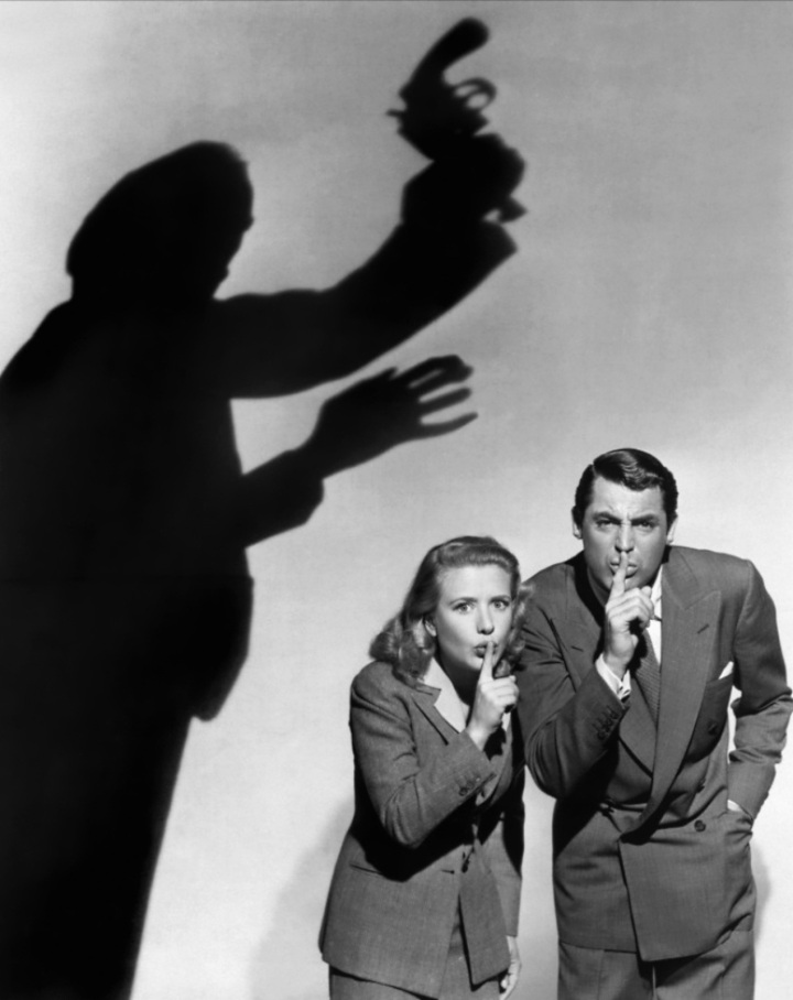 Cary Grant and Priscilla Lane, Arsenic and Old Lace Publicity Photo