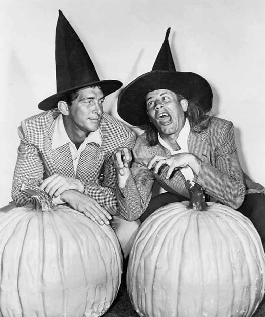 Jerry Lewis and Dean Martin Halloween
