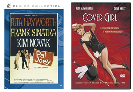 pal joey and cover girl dvds