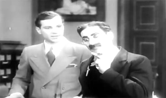zeppo marx and groucho marx, the cocoanuts