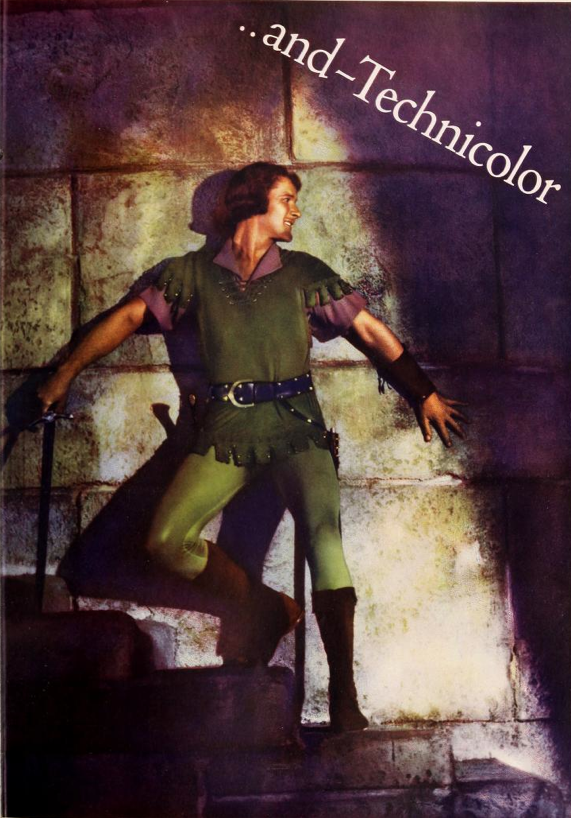 Errol Flynn as Robin Hood in 1939 version