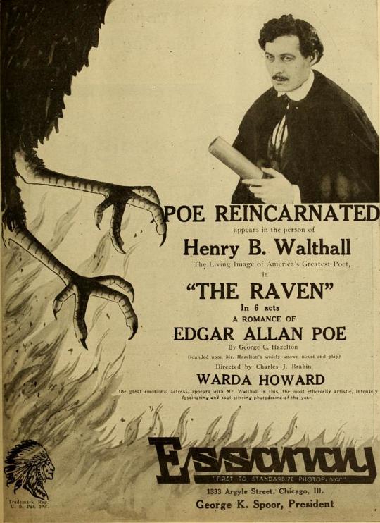 Essanay Raven ad