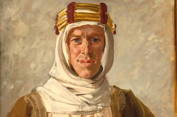 Portrait of T.E Lawrence