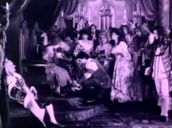 and the shoe fits, cinderella 1914, mary pickford, owen moore