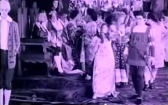 cinderella 1914, mary pickford, owen moore, cinderella and prince charming at the ball