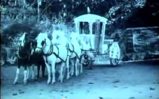 cinderella 1914, the magic coach