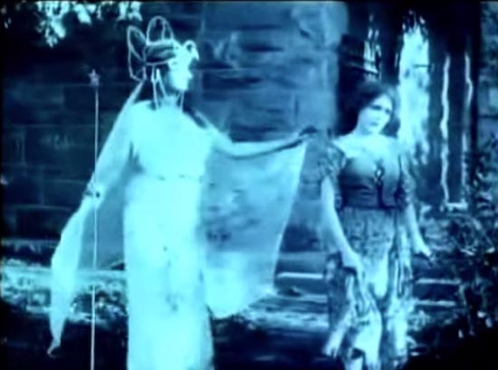 cinderella 1914, fairy godmother, inez marcel, comes to the rescue, mary pickford