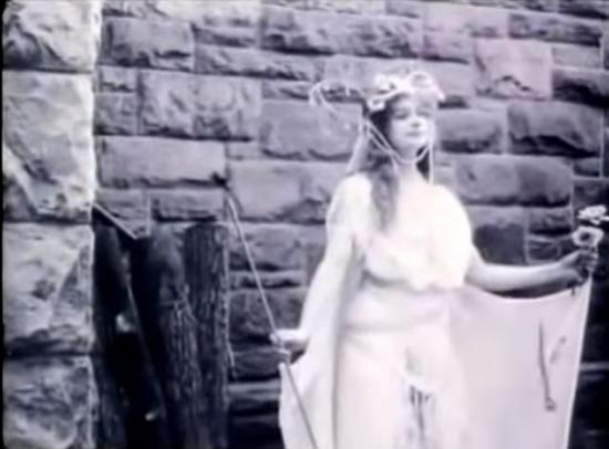inez marcel as the fairy godmother, cinderella 1914