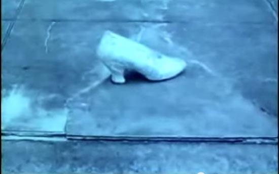 cinderella 1914, the shoe