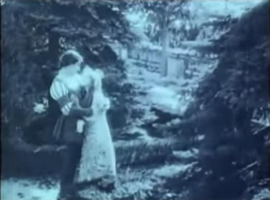 cinderella 1914, final scene, mary pickford, owen moore
