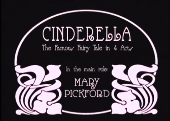 Cinderella 1914, the famous fairy tale in 4 acts