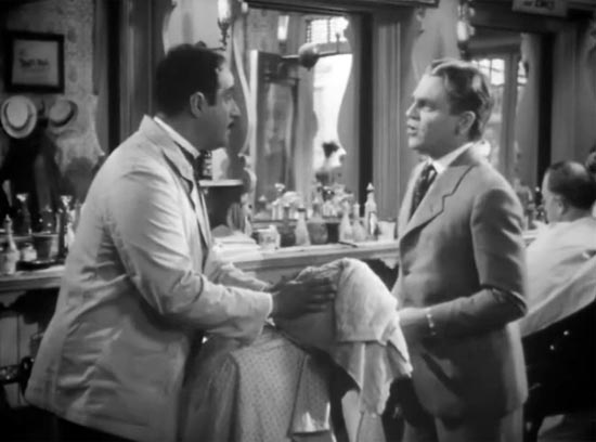 George Tobias and James Cagney, the Strawberry Blonde
