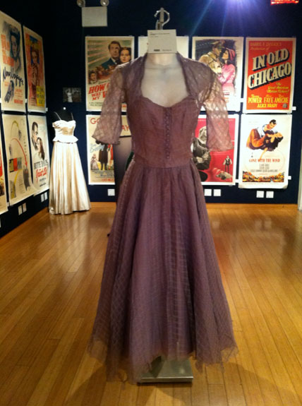 Grace Kelly cocktail dress from Mogambo