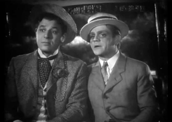 James Cagney and Jack Carson, the strawberry blonde