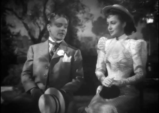 James Cagney and Olivia de Havilland, the Strawberry Blonde