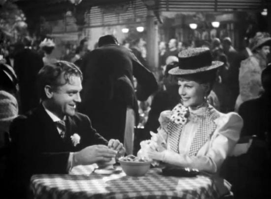 James Cagney and Rita Hayworth, the Strawberry Blonde