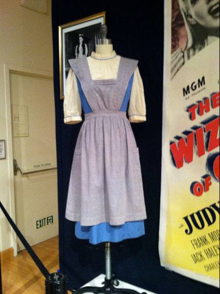 Dorothy 'test' dress and pinafore from The Wizard of Oz