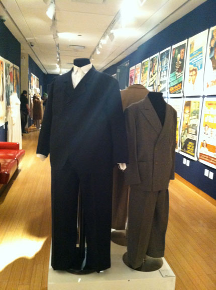 A pair of Laurel and Hardy suits