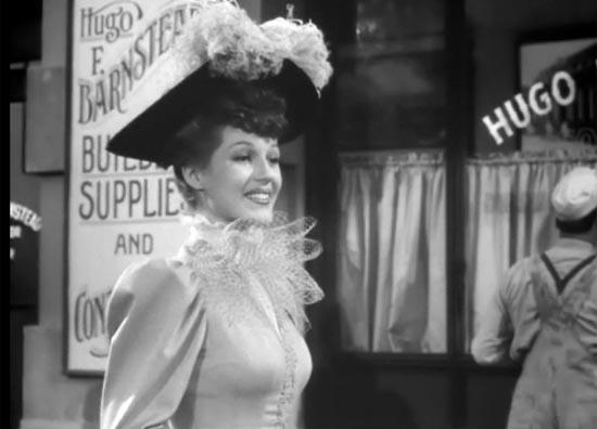 Rita Hayworth, the Strawberry Blonde