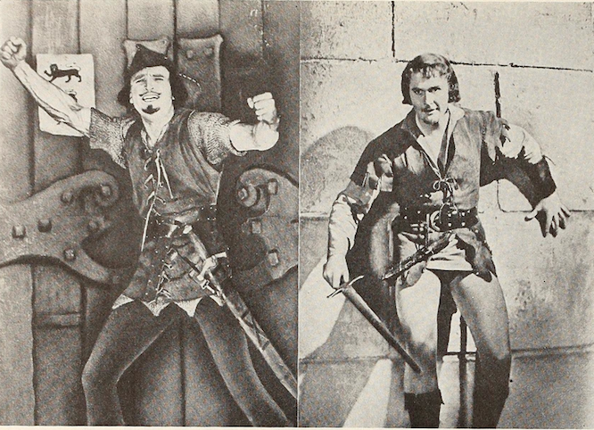 robin hoods douglas fairbanks and errol flunn