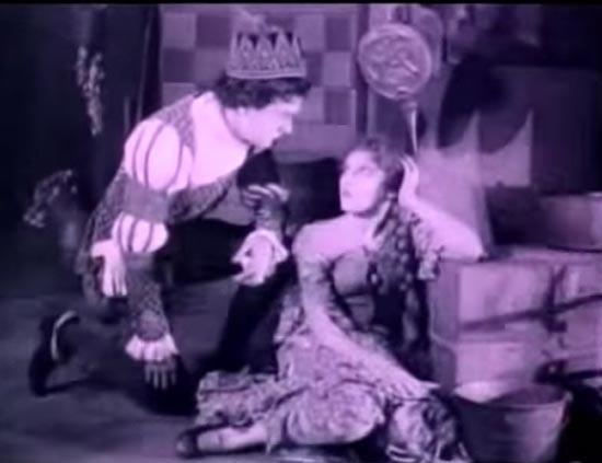 Prince Charming remembers Cinderella, Owen Moore, Mary Pickford, Cinderella 1914